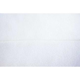 Boucle auto-agrippant épais à découper Blanc (laize 150cm)
