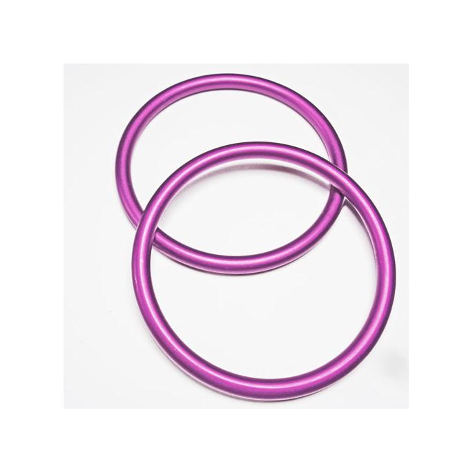 Anneaux de portage Violet Taille L (1 paire)