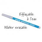 Feutre encre bleu soluble à l'eau : 10 + 4 gratuits