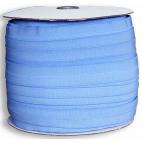Biais élastique 2.5cm Bleu pervenche (1m)