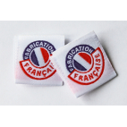 """Etiquettes déco """"Fabrication Française"""" - Lot de 10"""