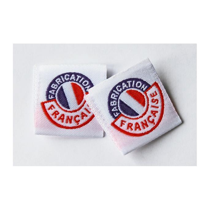 """10 woven labels """"Fabrication française"""""""