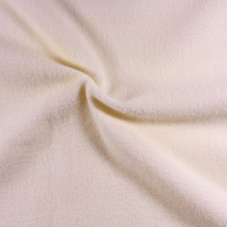Single side Microfleece Oekotex Eggshell