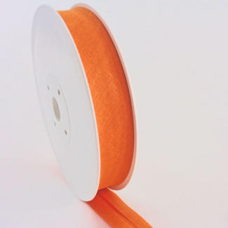Biais 30mm Orange (bobine 25m)