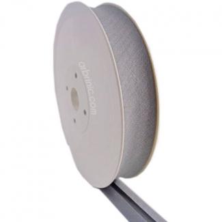 Single Fold Bias Binding 30mm Light Gray (25m roll)