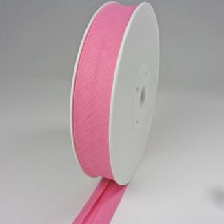 Single Fold Bias Binding 30mm Bubblegum (25m roll)