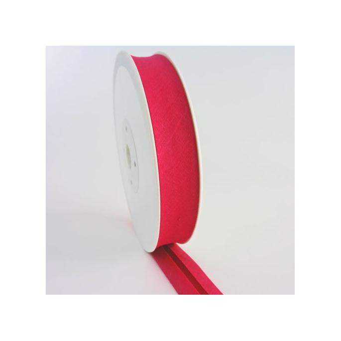 Single Fold Bias Binding 30mm Fushia Pink (25m roll)