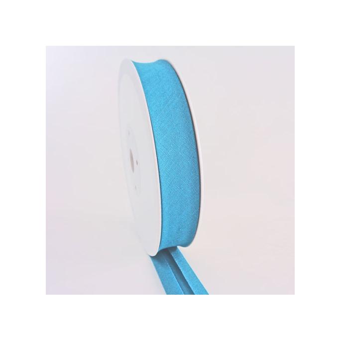 Single Fold Bias Binding 30mm Turquoise (by meter)