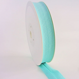 Single Fold Bias Binding 30mm Light green (25m roll)