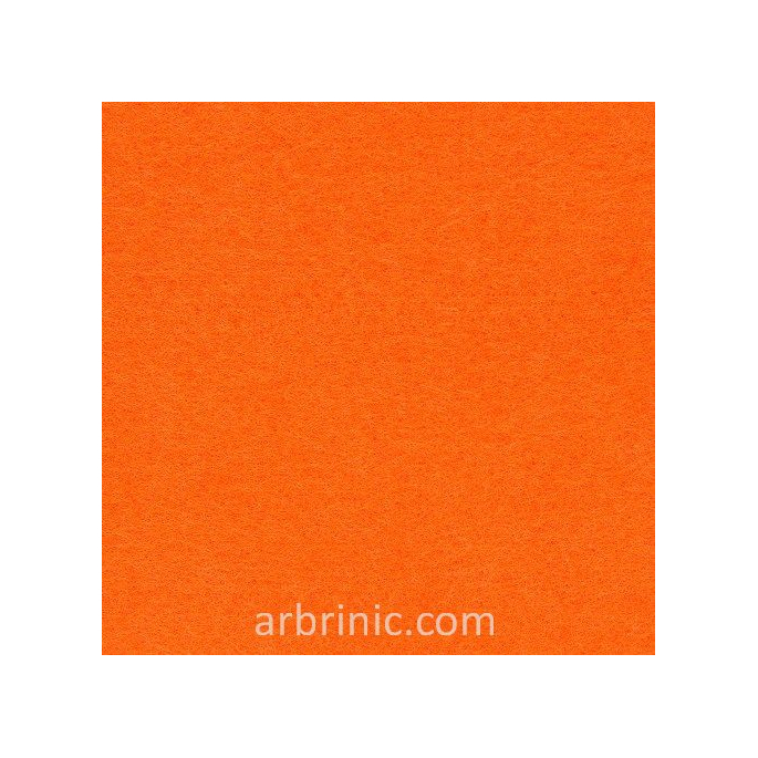 Feutrine Feuille A4 Orange