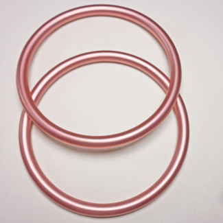 Sling Rings Pink Size L (1 pair)