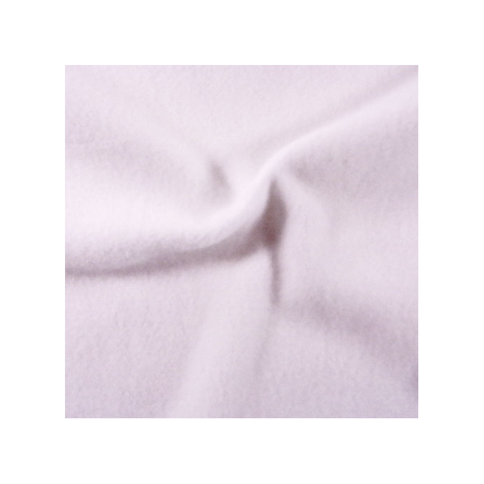 Micro Polaire Oekotex Blanc