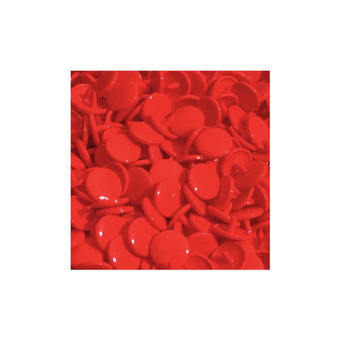 Pressions KAM T1 - Rouge B38 - 100 jeux RONDS