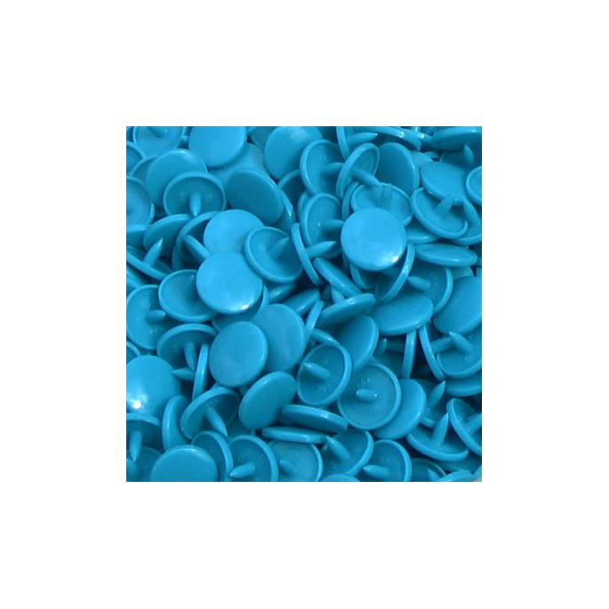 KAM Snaps size 20 Long Prong - Turquoise B46 - 100 full sets