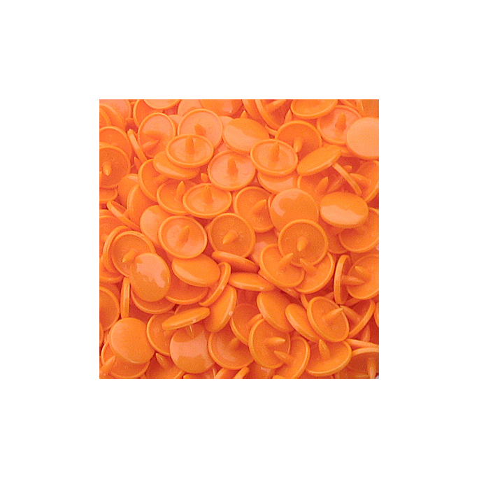 KAM Snaps size 20 Long Prong - Melon B40 - 100 full sets