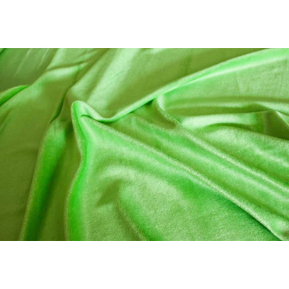 Bamboo velours - Lime (by meter)