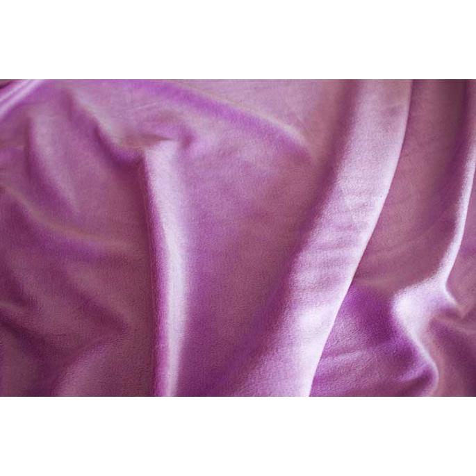 Purple bamboo velours