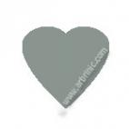KAM Snaps T5 - Silver B131 - 20 HEART sets