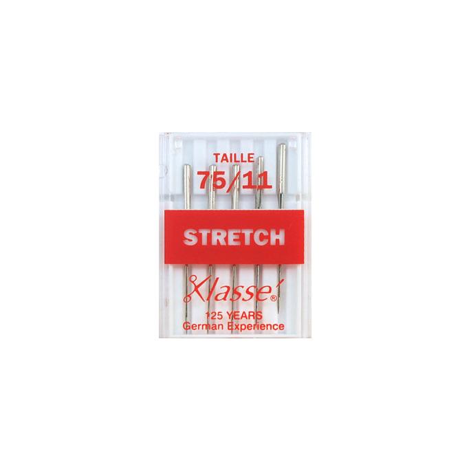 Aiguilles Machine Stretch 75/11 (x5)