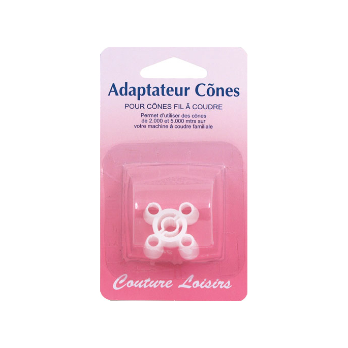 Cone adaptor for sewing machines