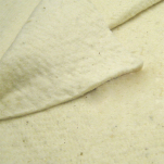 Cotton fleece for interfacing