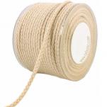 Cotton braided cording