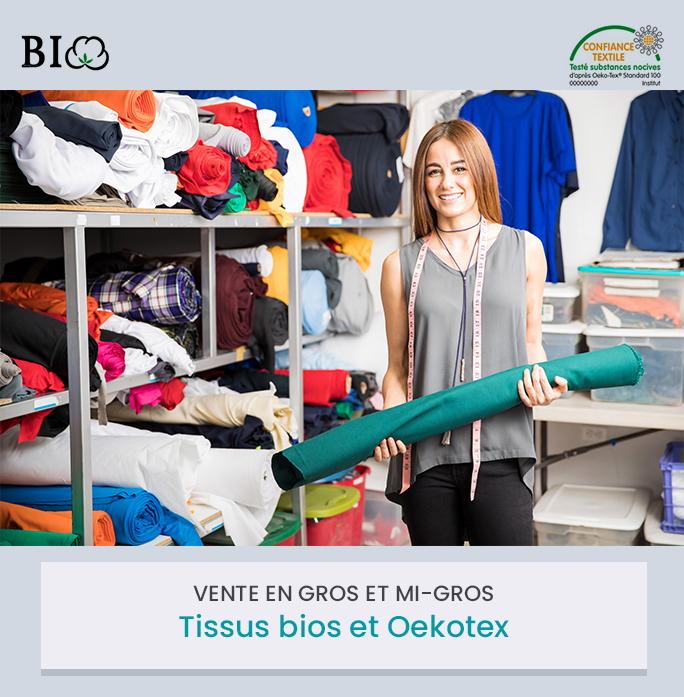 Ar Brinic vente en gros de tissus bios et oekotex
