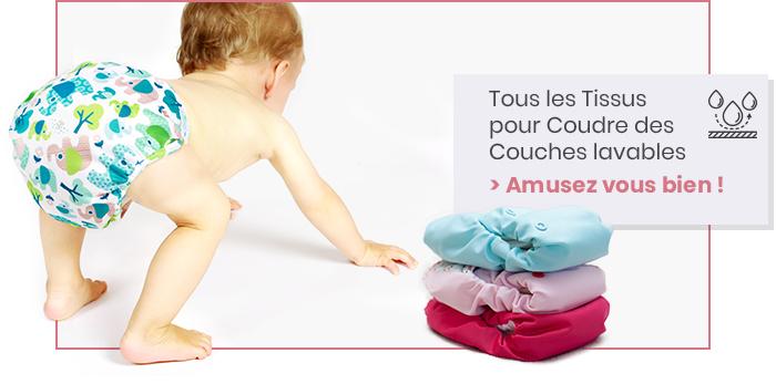 Tissus pour couches lavables